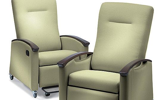 Stryker's Symmetry Plus Patient Room Recliner