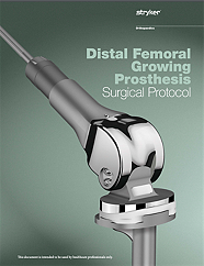 GMRS Distal Femoral Growing Prosthesis Surgical Protocol - GMRS-SP-1