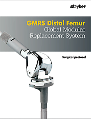 GMRS Distal Femur Surgical Protocol - GMRS-SP-3_Rev-1