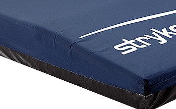 Detailansicht des abfallenden Fußendes der ComfortGel-Auflage von Stryker