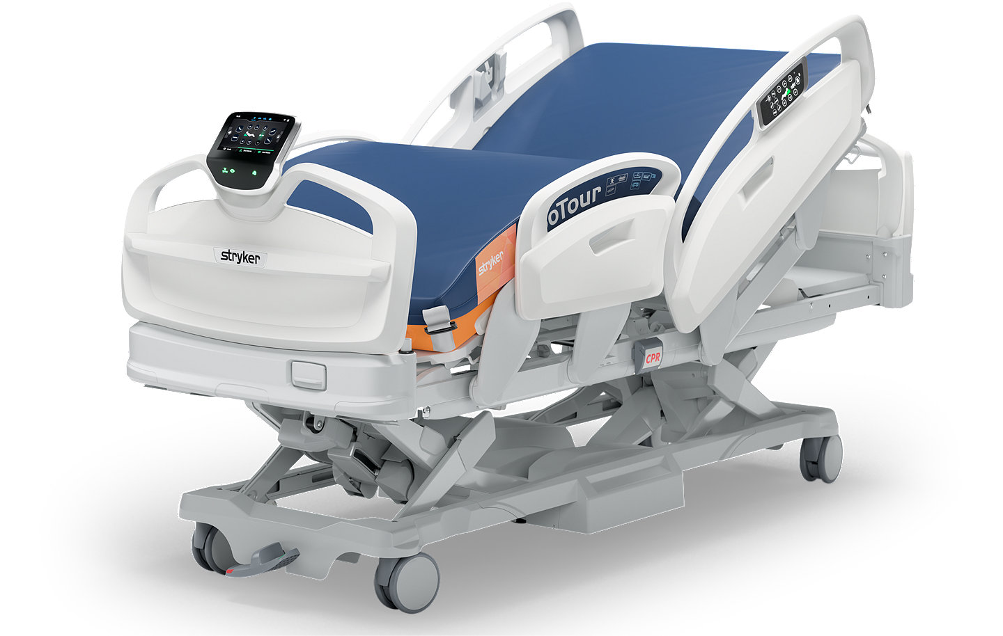 Stryker's ProCuity Bed – diagonal view