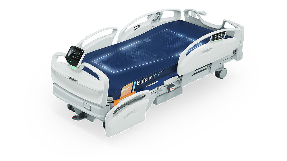 Stryker's ProCuity Bed – Three-zone adaptive bed alarm