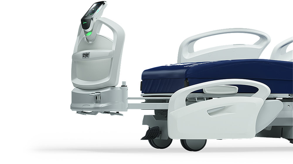 Stryker's ProCuity bed series - 30-cm integrated bed extender