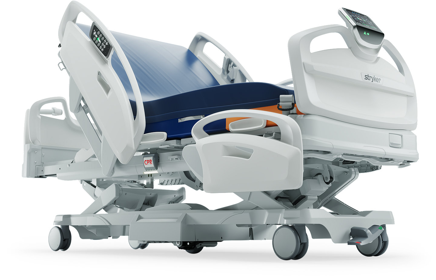 Stryker's ProCuity Bed - side view