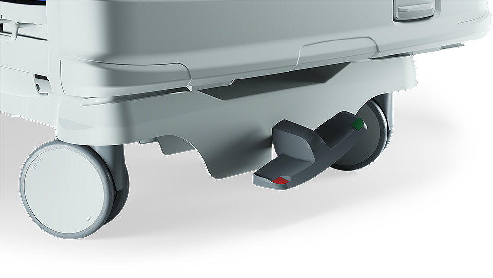 Stryker's ProCuity bed series - Electric brakes