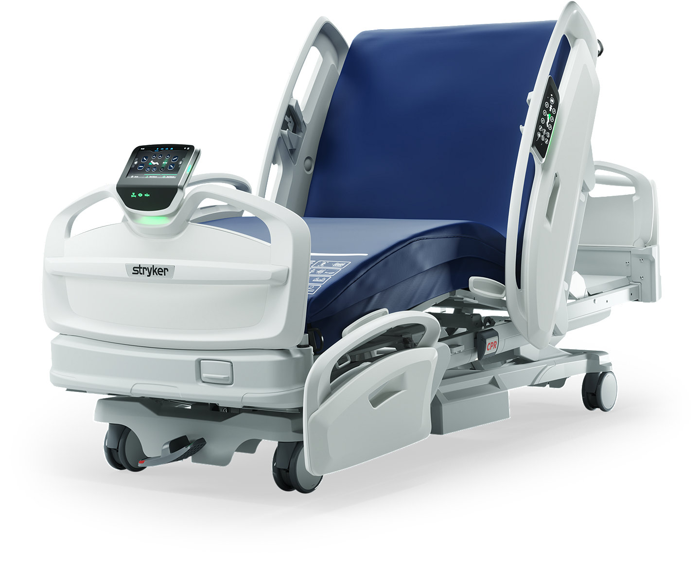 Stryker's ProCuity Bed - diagonal view