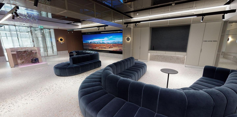 Lobby of the R&D lab