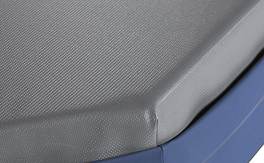 Close-up of the slip-resistant bottom on Stryker's IsoFlex SE support surface