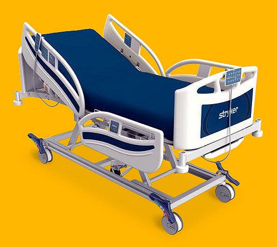 Stryker's SV2 hospital bed