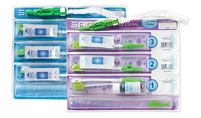 Sage oral hygiene systems for ventilated patients