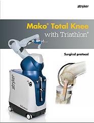 Mako Total Knee with Triathlon surgical protocol - TRIATH-SP-21