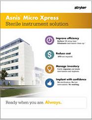 Asnis Micro Xpress Features & Benefits