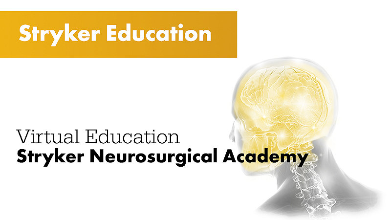 Stryker Education Virtual Education Stryker Neurosurgical Academy