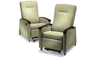 Stryker's Symmetry Plus Patient Room Recliners