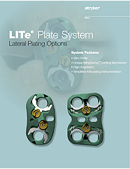 LITe Plate System Lateral Brochure