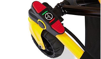 Steer-Lock cot mobilty control