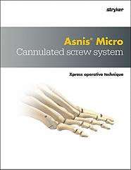 Asnis Micro Xpress operative technique