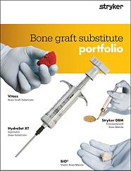 Bone Graft Substitute Portfolio Brochure