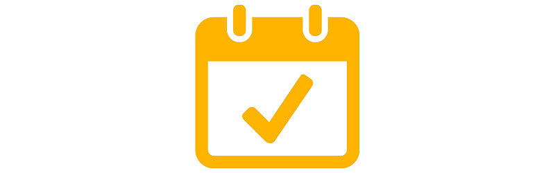 checkmark in planner icon