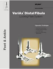 VariAx Fibula Operative Technique