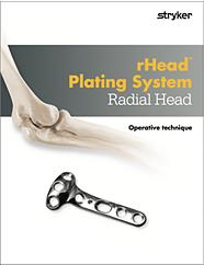 rHead Plating System Radial Head operative technique