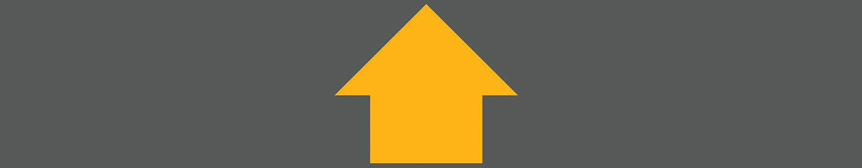Flecha amarilla que apunta hacia arriba