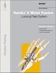 VariAx 2 Wrist Fusion operative technique