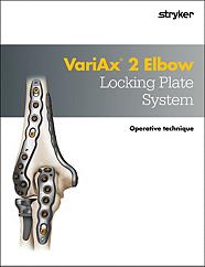 VariAx 2 Elbow operative technique